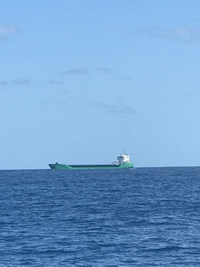 Arklow Shipping passing by in Biscay